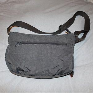 Kipling Bags - NWT Kipling Crossbody Adjustable Gray Shoulder Bag